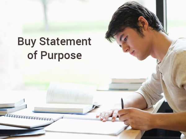Buy Statement of Purpose