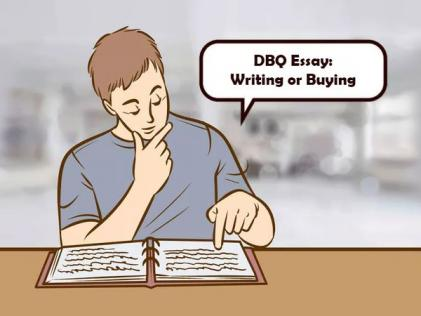 DBQ Essay: Writing or Buying ?