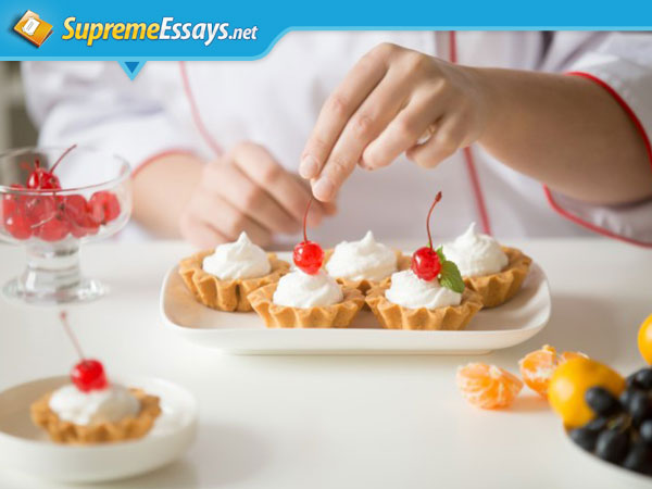 Skills of Food Presentation Are Helpful in Successful Academic Writing